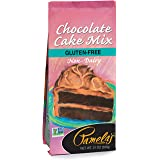 Pamela's Products Gluten Free Cake Mix, Chocolate, 21 Ounce