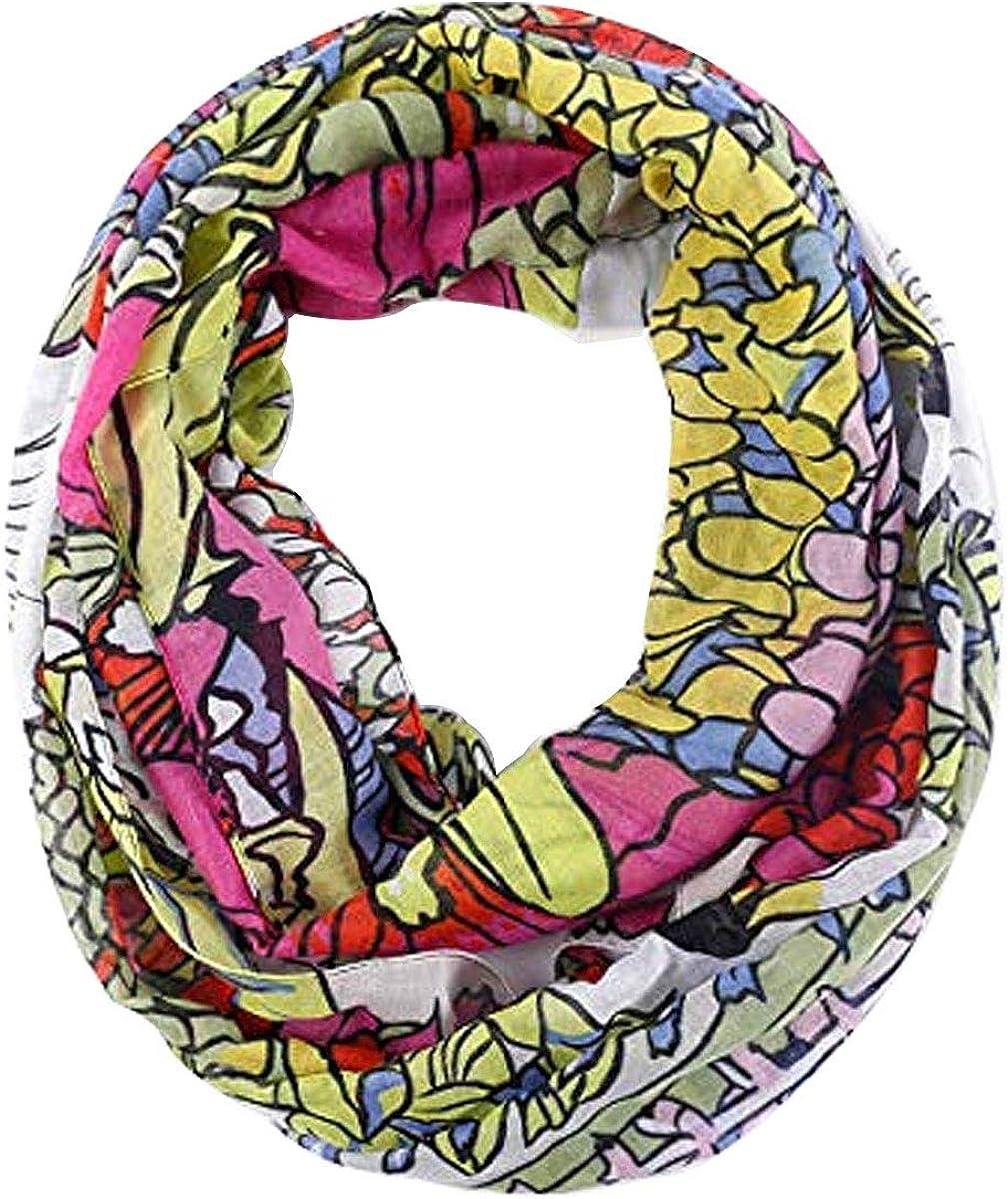 Fashion stylish Toddler Baby Girls Boys Jersey Infinity scarf Cozy Soft