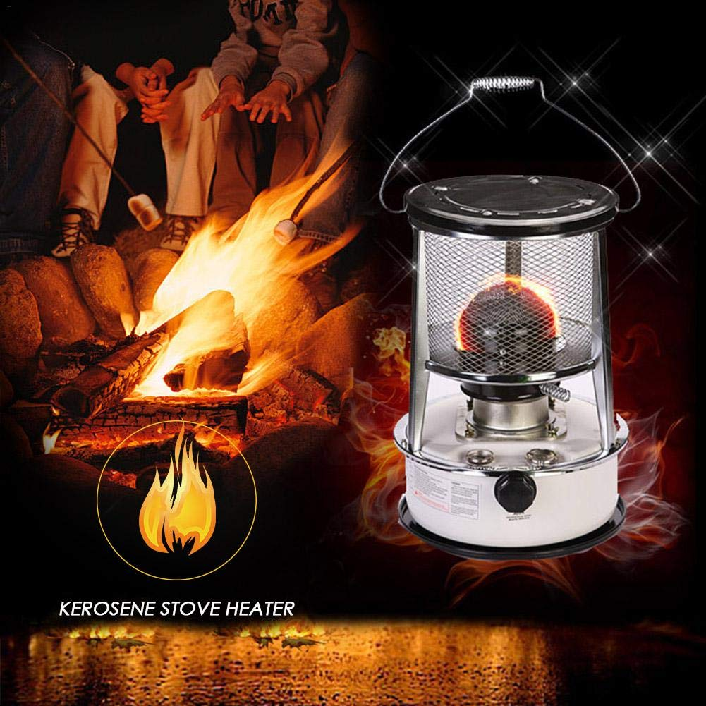 Camping Stove Kerosene Stove Burner Camping Oil Heaters Portable Camping Stove Set for Indoor Outdoor Office,Patio,Deck,Home,Other recreational areas Dedeka Kerosene Heater Stove 4.5L // 6L