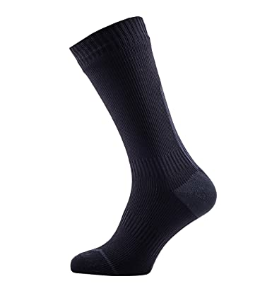 pensamientos sobre novísimo selección correr zapatos Sealskinz Road Thin Mid With Hydro Stop Calcetines, Unisex adulto, Negro,  39-42 EU