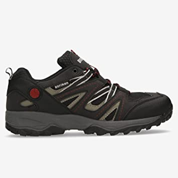 BORIKEN Zapatillas Montaña Negro Hombre (Talla: 43)