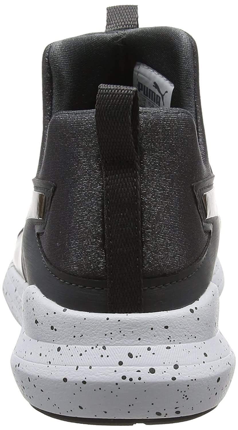 Womens Rebel Mid WNS Speckles Trainers, Grey (Anthracite), 13 UK Puma