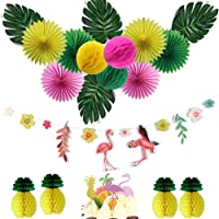 Easy JoyDecoración de Cumpleaños, Fan Pompom Tarjeta