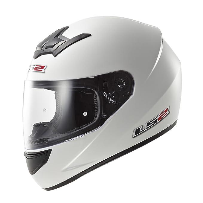 35 opinioni per LS2- Casco Moto, Bianco, S