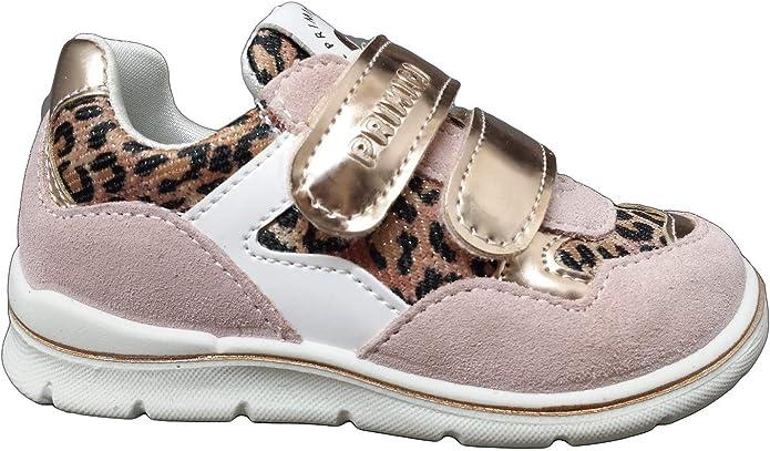 Primigi 5361633 Sneakers en Daim pour Fille Rose//l/éopard