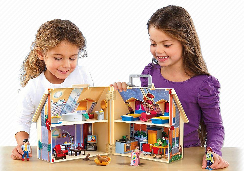 PLAYMOBIL Take Along Modern Doll House by PLAYMOBIL® (Image #4)