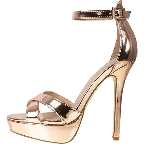 información para 6956b 6a05d Shoebou - Zapatos de Vestir de Material Sintético para Mujer ...