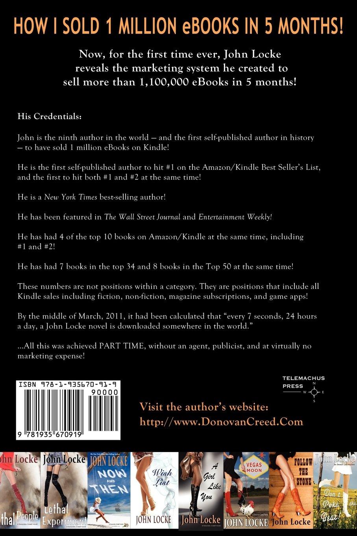How i sold 1 million ebooks in 5 months john locke 9781935670919 amazon com books