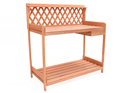 Prime Tms Outdoor Potting Bench Garden Work Station Planting Bench Solid Wood Construction Uwap Interior Chair Design Uwaporg