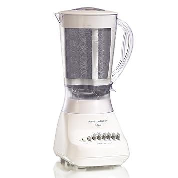 Hamilton Beach 50162 Batidora de vaso 1.59L 700W Blanco - Licuadora (Batidora de vaso, 1,59 L, Blanco, 700 W): Amazon.es: Hogar