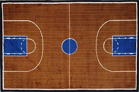 Amazon.es: En la cancha de baloncesto Alfombras