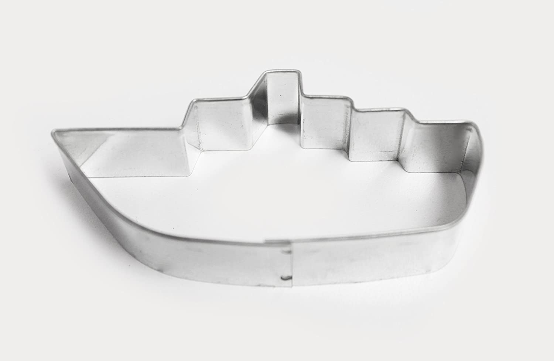 Calder 7252 Backform Schiff, Dim. 9 x 4 x 2 cm, silber