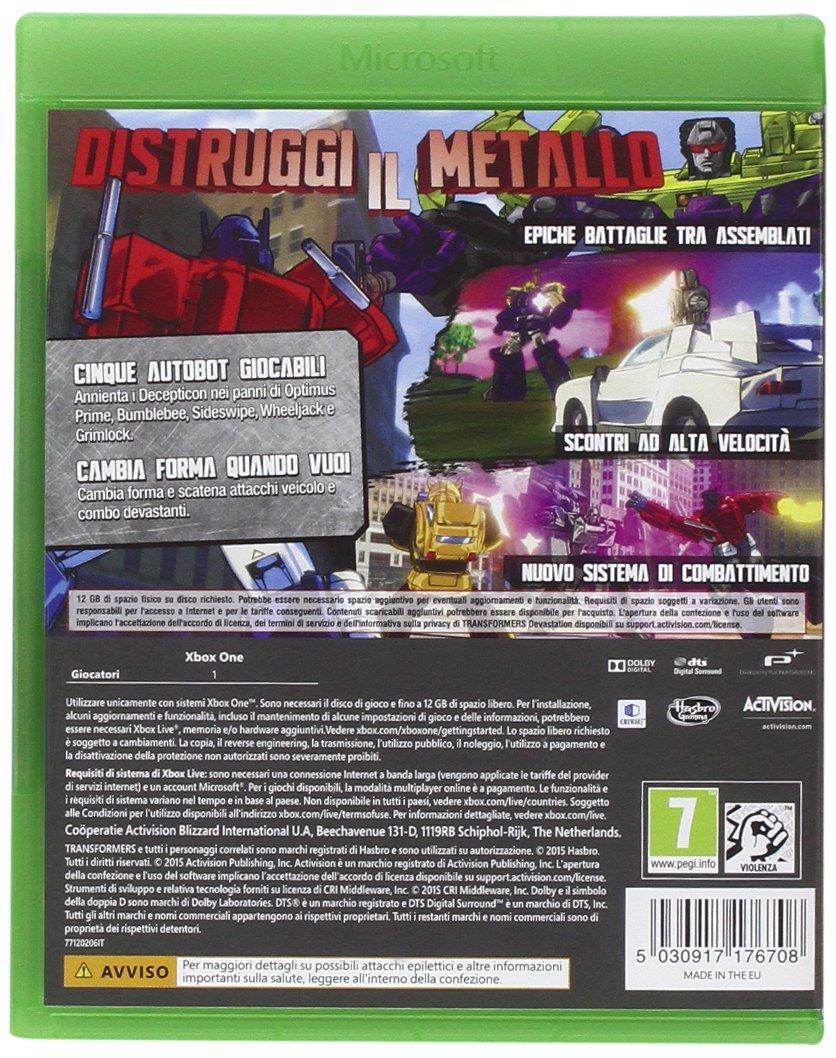 Transformers Devastation [Importación Italiana]: playstation ...