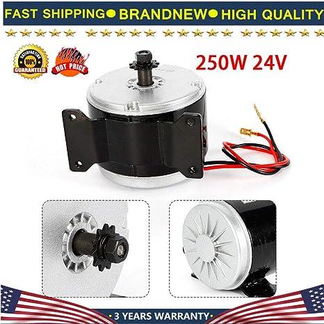Amazon com : Electric Motor, 250W 24V Electric Brush MY1016