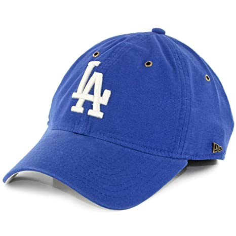 New Era 920 Los Angeles Dodgers  quot Team Essential quot  Strapback Hat ... 0f237b1fc8
