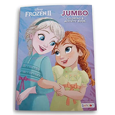 Baby Princesses Anna and Elsa Coloring and Activity Book - 96 Pages: Toys & Games
