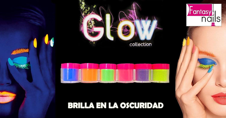 Amazon.com: Fantasy Nails Sinaloa - Glow In the dark Acrylic Nail ...