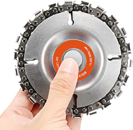 Grinder Disc Tooth Fine Chain Saw 4 Inch Angle Carving Culpting Wood  O