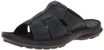 35b08110a5012 Amazon.com | Clarks Men's Swing Around Sandal, Black, 7 M US | Sandals