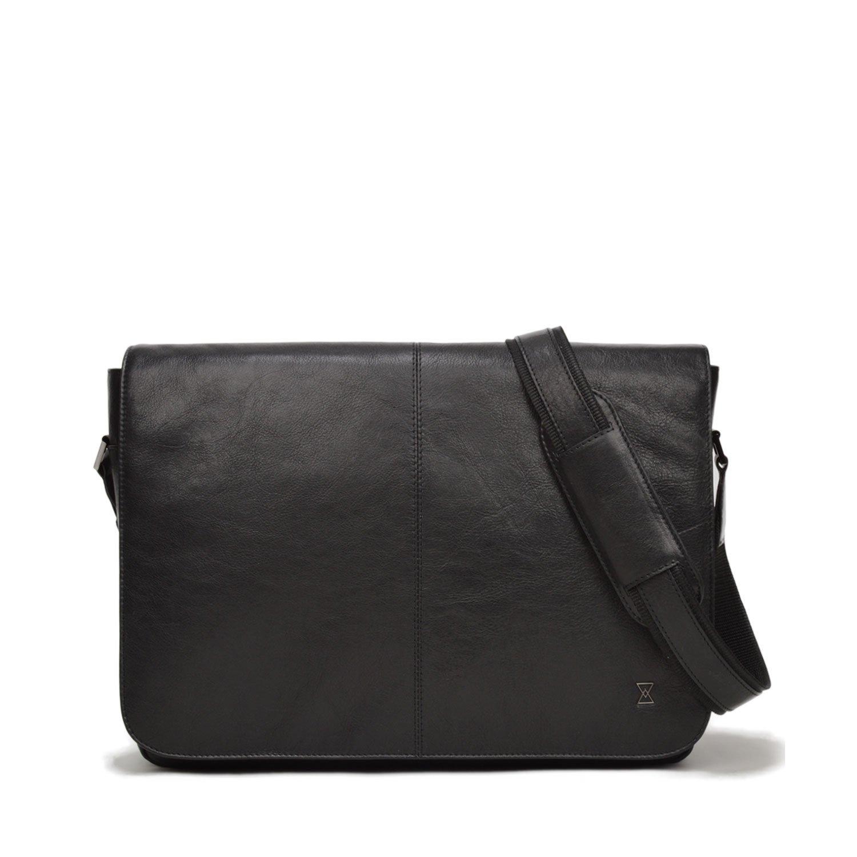 (テラコモ ニューヨーク 米国) TERRACOMO New York「アンダーソン」メンズ 本革 メッセンジャーバッグ ビジネスバッグ   Anderson Leather Messenger  Black VT B074D8WBNX
