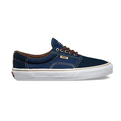 Vans Rowley Solos Skate Shoe - Mens Dress Blues/Brown, 8.5
