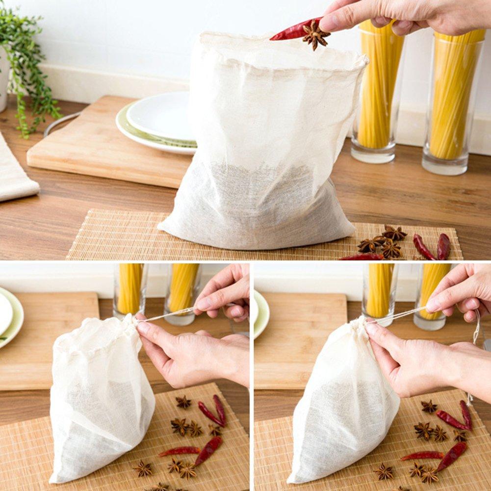 Bolsas de filtro de algodón reutilizables ultra finas para ...