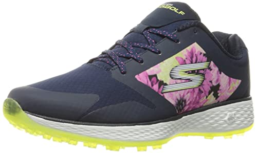 Skechers - Zapatos de golf para mujer azul Navy/Mint Tropic