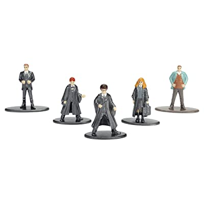 Nano Metalfigs Harry Potter Die-Cast Mini Figures Set 1: Toys & Games