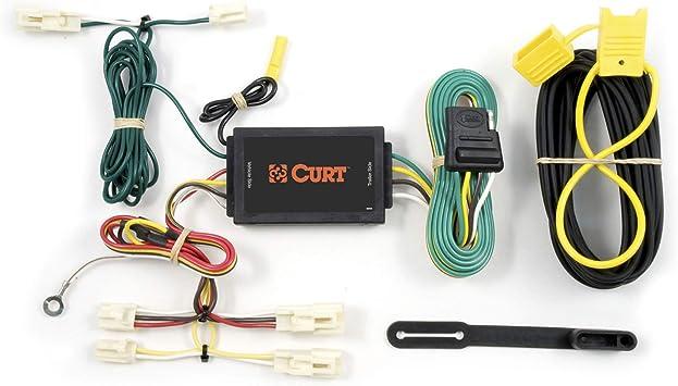Amazon.com: CURT 55567 Vehicle-Side Custom 4-Pin Trailer Wiring Harness,  Select Mazda 3, 6, CX-7, Toyota Camry, Corolla, FJ Cruiser: AutomotiveAmazon.com