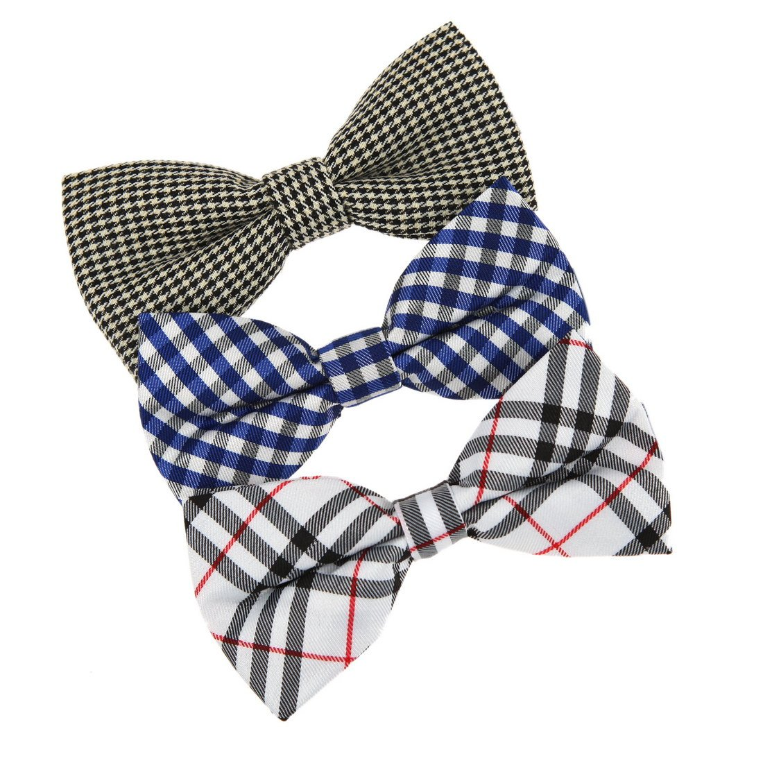 DBE0106 Collection Pre-Tied Bow Tie for Fashion 3 Pack Set Dan Smith