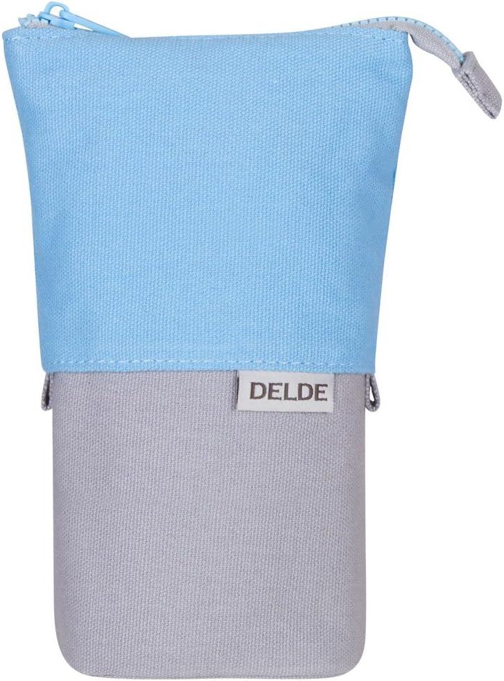 DELDE Pen Case Cool Light Blue