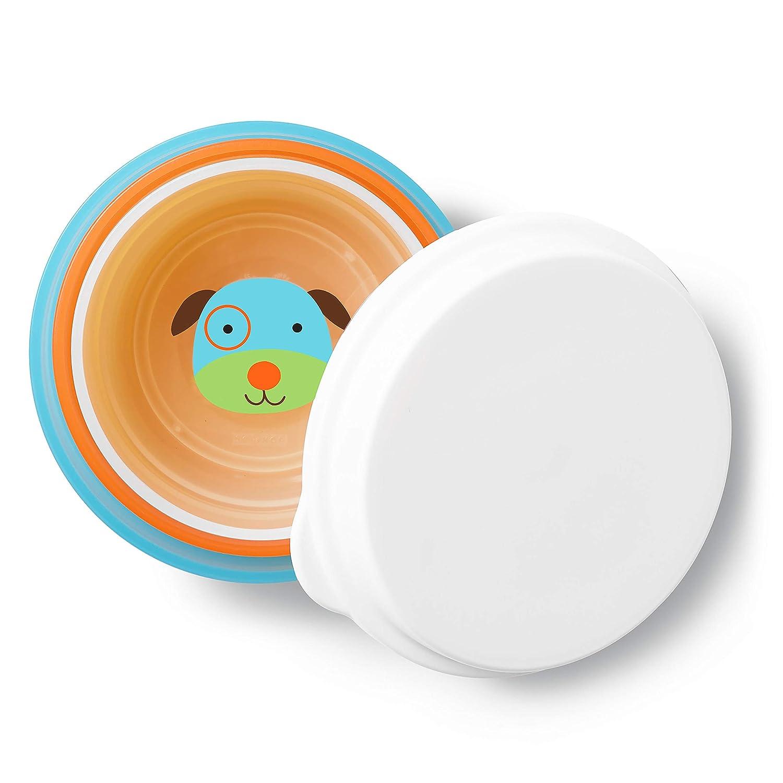 Skip Hop Baby Bowl Non-Slip Rubber Grip 3 Pack Butterfly Smart Serve