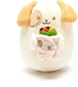Anirollz Food Plush Stuffed Animal Dog Toy Burrito Squishy Mini Ball Puppiroll