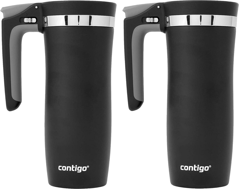 Contigo Handled Autoseal Stainless Steel Mug