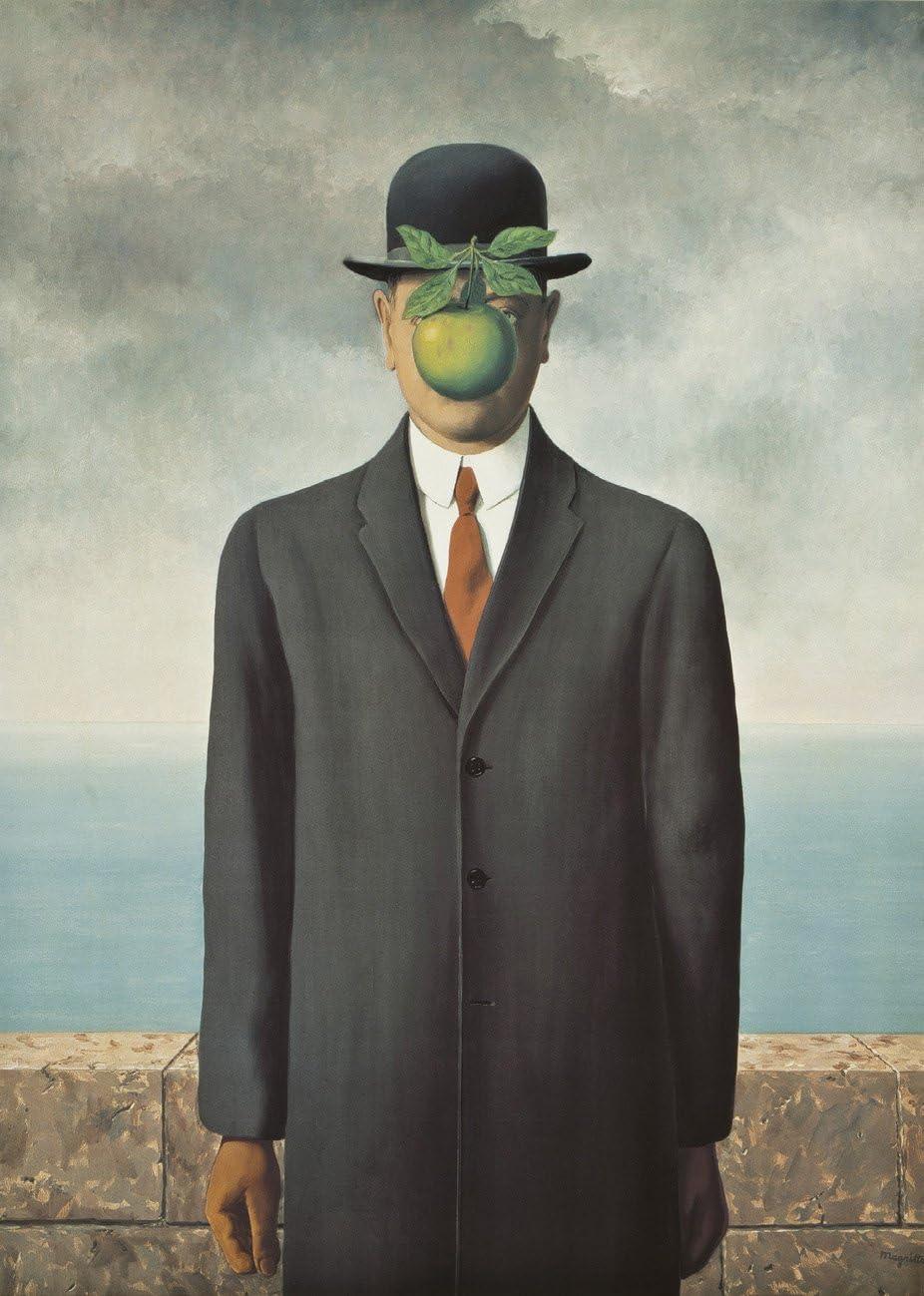 Ricordi-Le Fils de L'Homme 1500 Rene Magritte Puzle, Multicolor