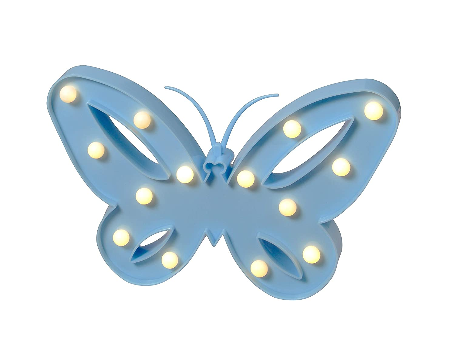 Warm & Fuzzy Toys Cordless LED Decor Lights Butterfly