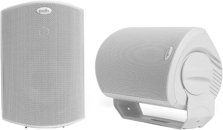 Polk Audio Atrium 6 Sats Außen Lautsprecher 100 W Weiß Audio Hifi
