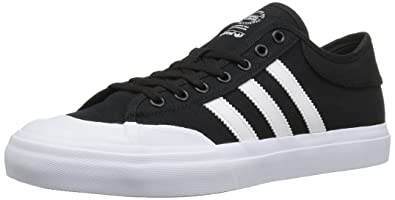 adidas Originals Mens Matchcourt Fashion Sneakers Black/White/Black 8 M US