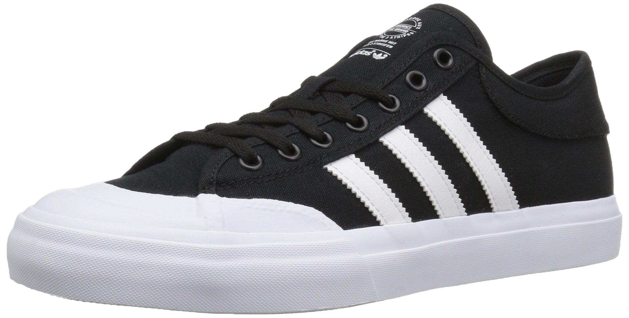 adidas Originals Men's Matchcourt Fashion Sneakers White/Black, (7 M US)
