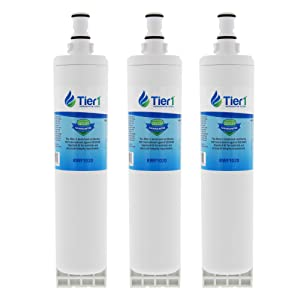 Tier1 Replacement for EDR5RXD1, 4396510, EveryDrop Filter 5, NLC240V, 4396547, PUR W10186668, Kenmore 46-9010 Refrigerator Water Filter 3 Pack