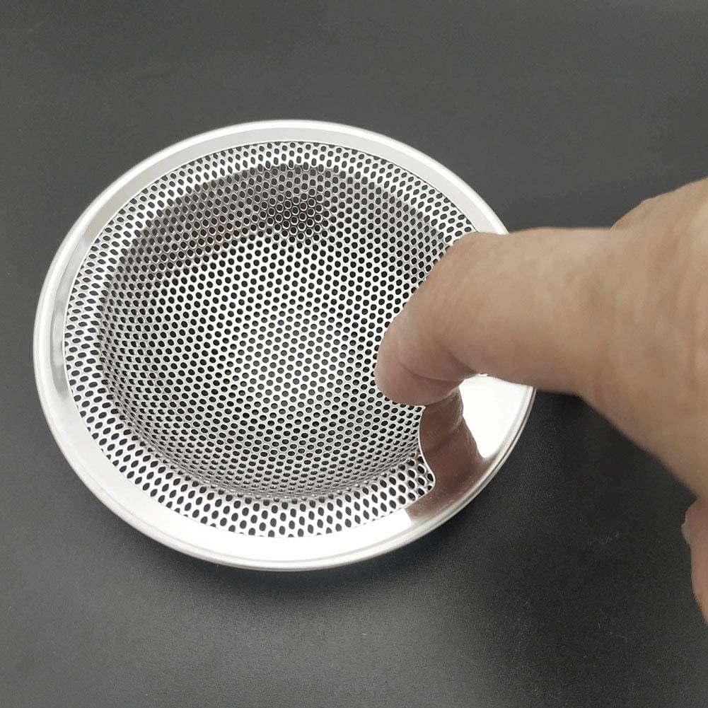 Sink Strainer Sink Stopper Kitchen Bathroom Sink Drain Strainer Filter Anti-clogging with Upgrade Handle Stainless Steel 2pcs Filter Tool
