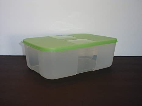 Tupperware - Juego de 2 recipientes para congelador, color verde ...