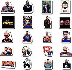 20 PCS Stickers Pack Kevin Aesthetic Smith Vinyl Colorful Waterproof for Water Bottle Laptop Bumper Car Bike Luggage Guitar Skateboard