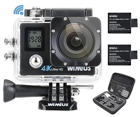 Action Camera Subacquea : Wimius q action camera fotocamera subacquea k wifi full hd mp