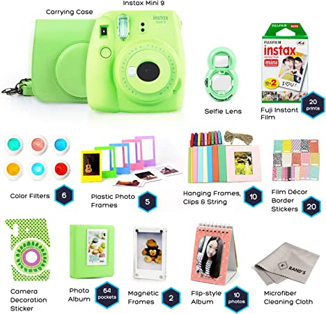 Rand's Camera Instax Mini 9 - Lime Green product image 8
