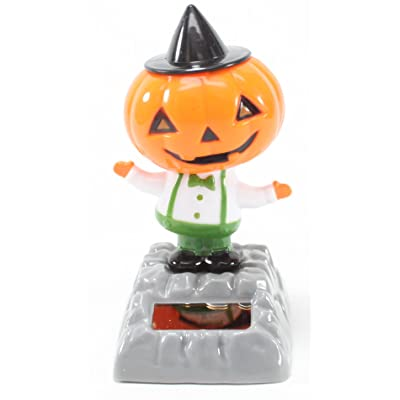 A Dancing Pumpkin with Hat Solar Toy Halloween Nightmare Party Home Decor Gift US Seller: Toys & Games [5Bkhe0201236]