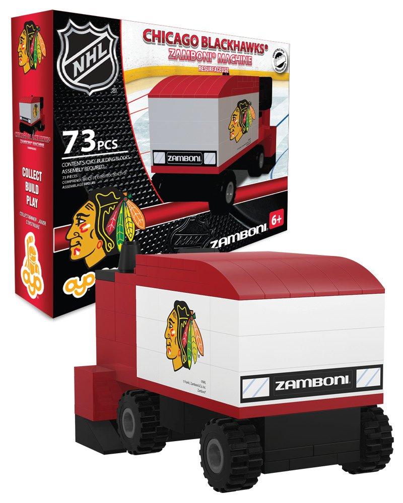 OYO Sportstoys OYOHZACBH Zamboni Machine Chicago Blackhawks 73 Piece Building Block Set, One Size Grosnor OYOHKYCHIZAM