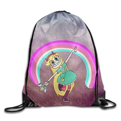 11b04e3ccf33 Amazon.com  Drawstring Backpack Bag Star Vs. The Forces Of Evil ...