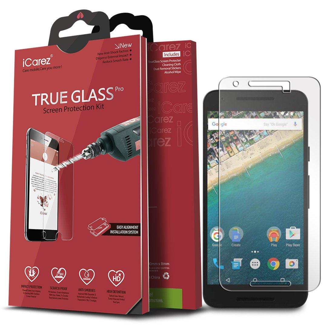 Lg Google Nexus 5X Screen Protector Icarez [Tempered Glass] Highest Quality P.. 14