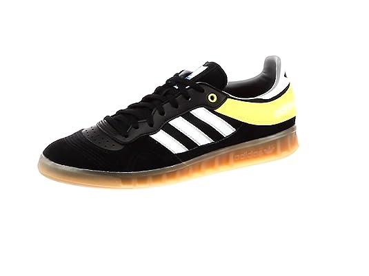 adidas Handball Top, Zapatillas de Balonmano para Hombre, Negro (Negbás/Ftwbla/
